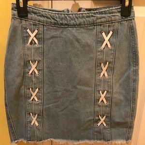 Denim skirt from Missguided